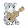 Preciosa Figurine Bear With Guitar